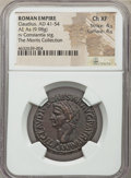 Ancients:Roman Imperial, Claudius I (AD 41-54). AE as (29mm, 9.98 gm, 5h). NGC Choi...
