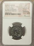 Ancients:Roman Imperial, Ancients: Macrinus (AD 217-218). AE as (26mm, 13.46 gm, 12h). NGC XF 5/5 - 3/5, light smoothing....