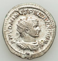 Ancients:Roman Imperial, Ancients: Caracalla, as Augustus (AD 198-217). AR antoninianus(23mm, 5.28 gm, 8h). XF....