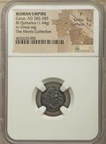 Ancients:Roman Imperial, Carus (AD 282-283). BI quinarius (15mm, 1.44 gm, 5h). NGC ...