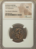 Ancients:Roman Imperial, Domitian (AD 81-96). AE dupondius (26mm, 7h). NGC VF.