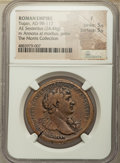 Ancients:Roman Imperial, Trajan (AD 98-117). AE sestertius (34mm, 24.44 gm, 6h). NG...