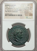 Ancients:Roman Imperial, Ancients: Titus, as Augustus (AD 79-81). AE sestertius (33mm, 22.05 gm, 5h). NGC VF 5/5 - 3/5....