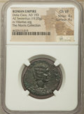 Ancients:Roman Imperial, Ancients: Didia Clara (April-June AD 193). AE sestertius (27mm, 19.20 gm, 6h). NGC Choice VF 4/5 - 4/5....