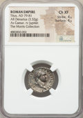 Ancients:Roman Imperial, Titus, as Caesar (AD 69-79). AR denarius (19mm, 3.32 gm, 7...
