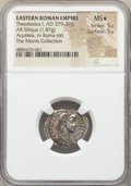 Ancients:Roman Imperial, Ancients: Theodosius I, Eastern Roman Empire (AD 379-395). ARsiliqua (19mm, 1.87 gm, 7h). NGC MS★ 5/5 - 5/5.