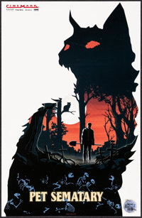 """Pet Sematary & Other Lot (Paramount, 2019). Rolled, Mint. Limited Edition Mini Posters (2) (11"""" X 17"""" &..."""