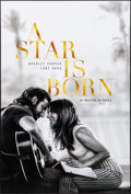 "Movie Posters:Drama, A Star is Born (Warner Bros., 2018). Rolled, Very Fine/Near Mint. One Sheet (27"" X 40"") DS Advance. Drama.. ..."