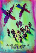 "Movie Posters:Action, Suicide Squad (Warner Bros., 2016). Rolled, Very Fine/Near Mint. One Sheet (27"" X 40"") DS, Advance, Smile Style. Action.. ..."