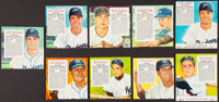 1952-55 Red Man Baseball Collection (36) Plus One Dixie Lid Billy Cox