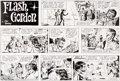 Original Comic Art:Comic Strip Art, Dan Barry Flash Gordon Original de la planche du dimanche 21juin 1970 (King Features Syndicate, 1970)....