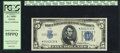 Small Size:Silver Certificates, Fr. 1650* $5 1934 Silver Certificate Star. PCGS Choice About New 55PPQ.. ...