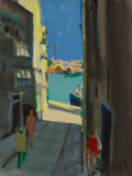 Paintings:Contemporary, Marcel Mouly (French, 1918-2008). Rue de Chypre (Cyprus Street), 1984. Acrylic on canvas. 30 x 22-1/2 inches (76.2 x 57....