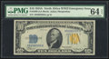 Small Size:World War II Emergency Notes, Fr. 2309 $10 1934A North Africa Silver Certificate. PMG Choice Uncirculated 64 EPQ.. ...