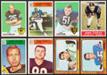 Football Cards:Singles (1960-1969), 1964-1969 Topps and Philadelphia Football Collection (450) With Stars. ...