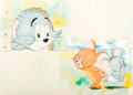 Animation Art:Production Drawing, Tom and Jerry Storybook Illustration Original Art(MGM/Whitman, c. 1950s)....
