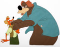 Animation Art:Color Model, Song of the South Br'er Fox and Br'er Bear Production/ColorModel Cel (Walt Disney, 1946)....