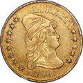 Early Eagles, 1799 $10 Small Obverse Stars, BD-6, R.5 -- Reverse Scratched -- NGCDetails. AU....