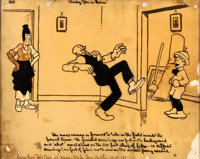 The Gumps Early Production Cel (Paramount, c. 1920)