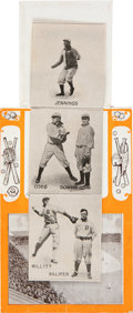 """Baseball Cards:Singles (Pre-1930), 1907 Detroit Tigers """"Our Home Team"""" Foldout-Style Postcard with Cobb. ..."""
