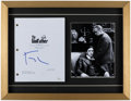 Autographs:Others, Francis Ford Coppola Signed The Godfather Script FramedDisplay....