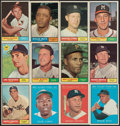 Baseball Cards:Sets, 1961 Topps Baseball Near Set (528/587). ...