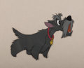 Animation Art:Production Cel, Lady and the Tramp Jock Production Cel (Walt Disney,1955)....