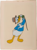 Animation Art:Production Cel, Donald Duck Production Cel (Walt Disney, c. 1950s)....