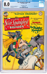 Star Spangled Comics #87 (DC, 1948) CGC VF 8.0 Cream to off-white pages