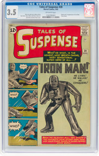 Tales of Suspense #39 (Marvel, 1963) CGC VG- 3.5 Off-white pages