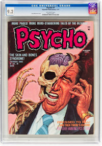 Psycho #1 (Skywald, 1971) CGC NM- 9.2 Off-white pages