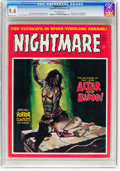 Magazines:Horror, Nightmare #7 (Skywald, 1972) CGC NM 9.4 Off-white pages....