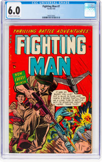 Fighting Man #7 (Ajax / Farrell, 1953) CGC FN 6.0 Off-white to white pages