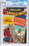 Silver Age (1956-1969):Superhero, The Amazing Spider-Man #18 (Marvel, 1964) CGC VF- 7.5 Whit...