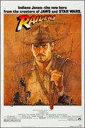 "Movie Posters:Adventure, Raiders of the Lost Ark (Paramount, 1981). Folded, Very Fine+. One Sheet (27"" X 41""). Richard Amsel Artwork. Adventure.. ..."