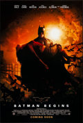 """Movie Posters:Action, Batman Begins (Warner Brothers, 2005). Rolled, Very Fine+. One Sheet (27"""" X 40"""") DS, Teaser. Action.. ..."""