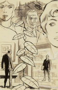 Original Comic Art:Illustrations, Wally Wood (American, 1927-1981). A Taste of Tenure, If Science Fiction interior illustration, 1961. Ink on paper. 6...