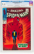 Silver Age (1956-1969):Superhero, The Amazing Spider-Man #50 (Marvel, 1967) CGC NM 9.4 Off-white towhite pages....