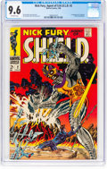 Silver Age (1956-1969):Superhero, Nick Fury, Agent of S.H.I.E.L.D. #2 (Marvel, 1968) CGC NM+ 9.6 Off-white pages....