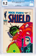 Silver Age (1956-1969):Superhero, Nick Fury, Agent of S.H.I.E.L.D. #5 (Marvel, 1968) CGC NM- 9.2 Off-white to white pages....