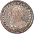 Early Dollars, 1797 $1 10x6 Stars, Large Letters, B-3, BB-71, R.2, VF35 PCGS....