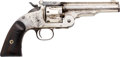 Handguns:Single Action Revolver, Smith & Wesson Second Model Schofield American Express Single Action Revolver....