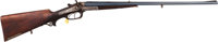 W. Forester Double Barrel Percussion Rifle