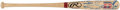 Baseball Collectibles:Bats, Baseball Hall of Fame Multi-Signed Bat (37 Signatures) from the Enos Slaughter Collection....