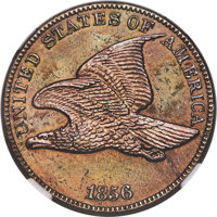 1856 1C Snow-9 -- Cleaned -- NGC Details. Proof....(PCGS# 147890)