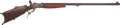 Long Guns:Single Shot, Engraved German C. Stiegele Munchen Schutzen Single Shot Rifle.. ...
