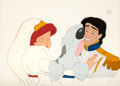 Animation Art:Production Cel, The Little Mermaid Ariel and Eric Wedding Scene Production Cel (Walt Disney, 1989)....