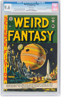 Weird Fantasy #17 (#5) Gaines File Pedigree 8/9 (EC, 1951) CGC NM+ 9.6 White pages