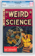 Golden Age (1938-1955):Science Fiction, Weird Science #19 Gaines File Pedigree 2/10 (EC, 1953) CGC NM+ 9.6Off-white to white pages....