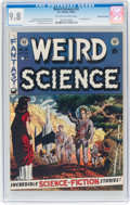 Golden Age (1938-1955):Science Fiction, Weird Science #14 Gaines File Pedigree 11/12 (EC, 1952) CGC NM/MT9.8 Off-white to white pages....
